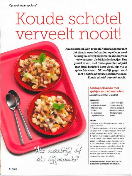 Recepten voor aardappelsalades