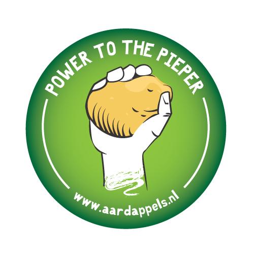 Logo van campagne Power To The Pieper